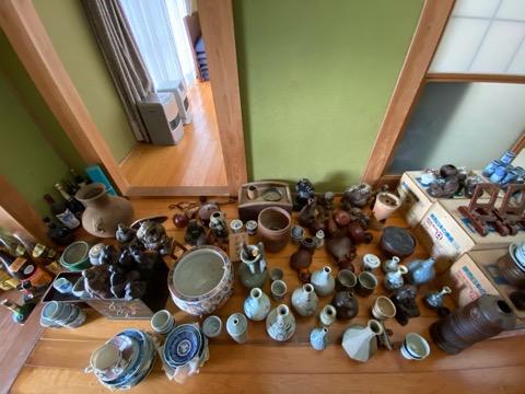 掛け軸,煎茶道具,備前焼,蕎麦猪口,薩摩焼,骨董品