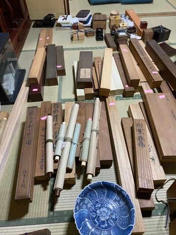 掛け軸,煎茶道具,骨董品掛け軸,煎茶道具,骨董品