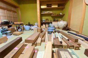 掛け軸,壺,蓋物な古物こb大量買取